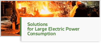 Solutions for Large Electric Power Consumption Industries